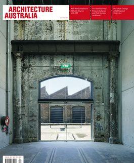 Architecture Australia, July 2007