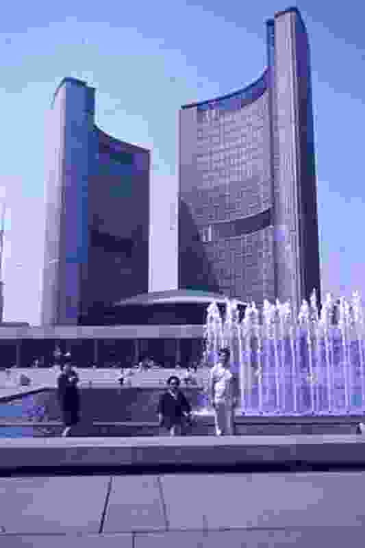 Toronto City Hall by Viljo Revell; Andrews worked on this project.