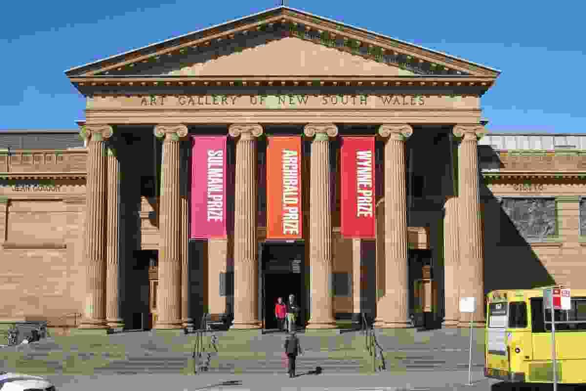 Art Gallery of NSW, originally designed by Walter Liberty Vernon in 1897.