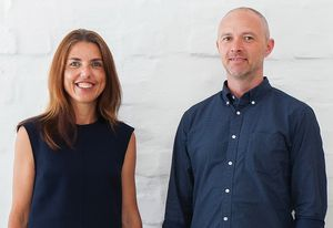 Alison Nobbs and Sean Radford of Nobbs Radford Architects.