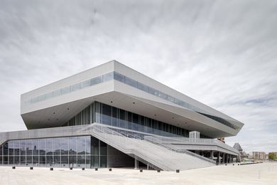 Dokk1 public library Aarhus, Denmark designed by Schmidt Hammer Lassen Architects.