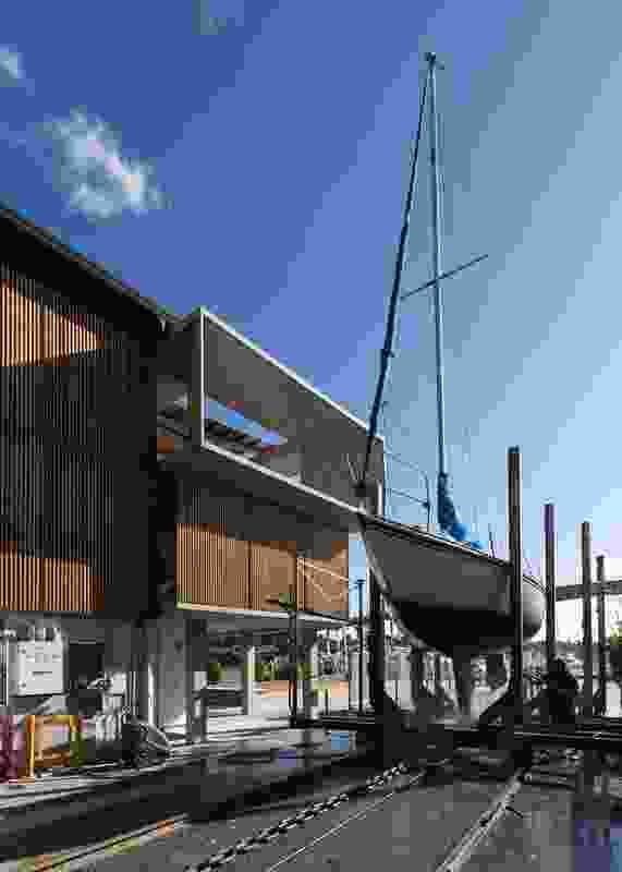 Gladesville Bridge Marina by Candalepas Associates.