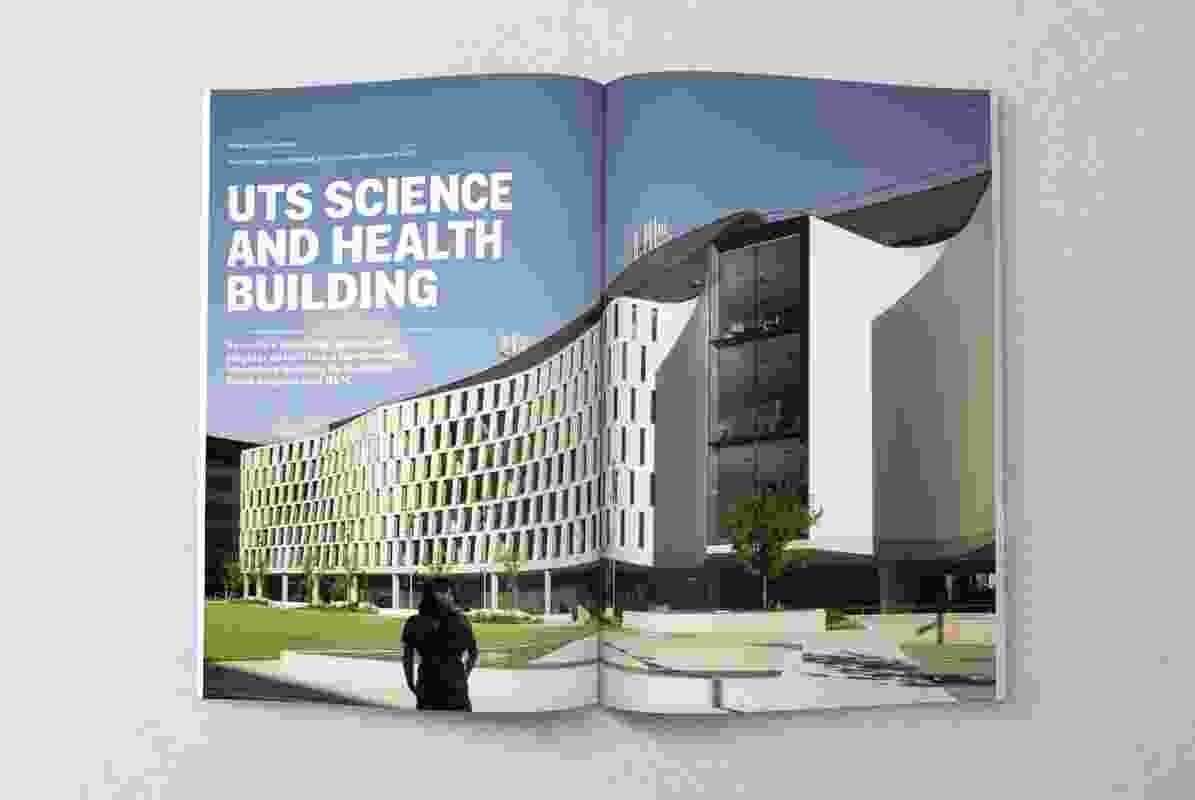 UTS Science and Health Building by Durbach Block Jaggers Architects and BVN Architecture.