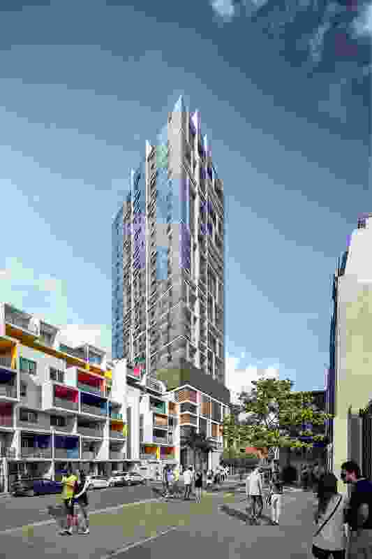 Designs for the redevelopment of the site surrounding Fortitude Valley by Architectus.