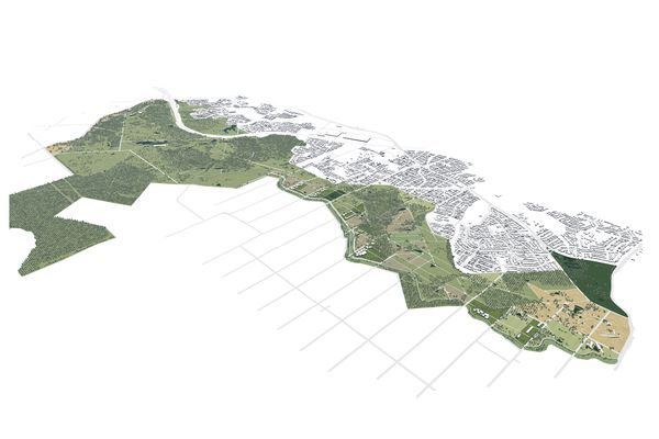 Southern Parklands Framework by Tyrrell Studio in collaboration with Western Sydney Parklands Trust