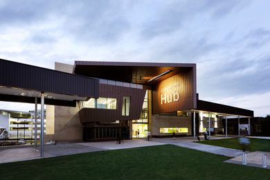 2012  F.D.G. Stanley Award for Public Architecture: Caboolture Hub by Peddle Thorp and James Cubitt Architects.