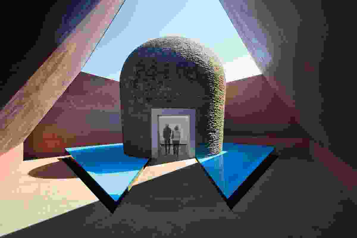 James Turrell (US), Within without, 2010.