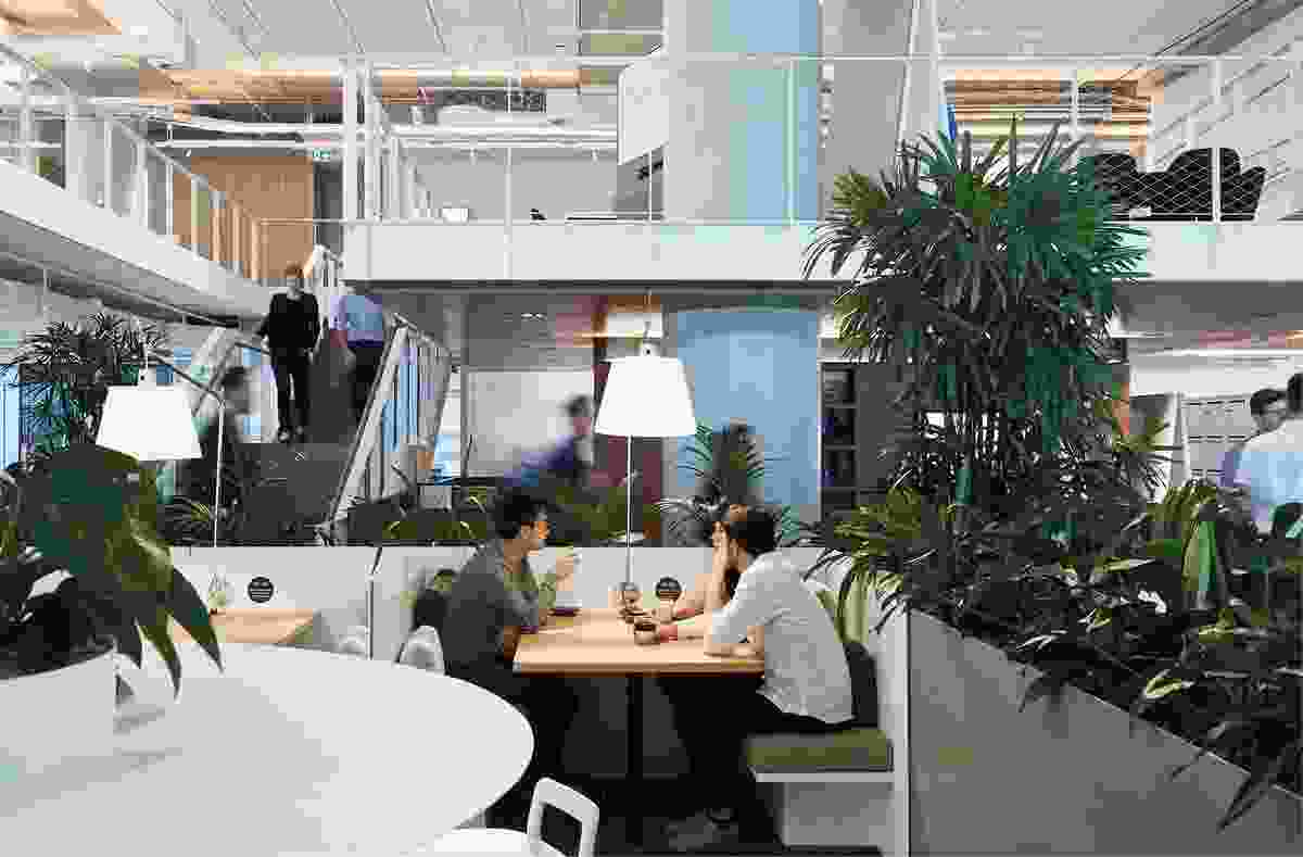 Arup Melbourne by Hassell partnered with Arup.