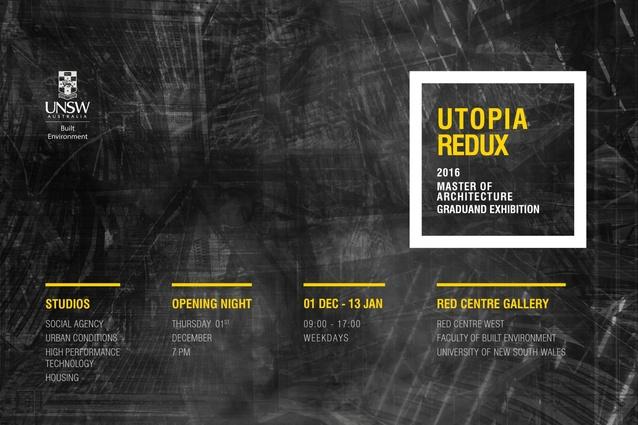 UNSW Built Environment Utopia Redux.