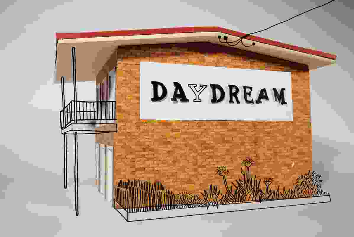 Anna Carey, Daydream, 2009, shown at the Built exhibition, Sydney.