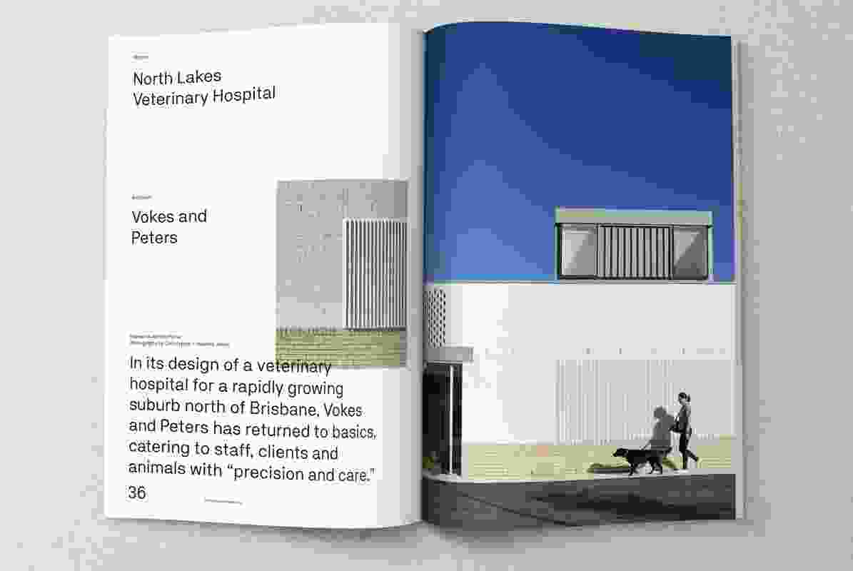 North Lakes Veterinary Hospital designed by Vokes and Peters.
