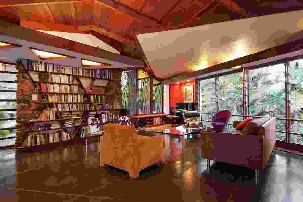 Oribin House + Studio by E.H. Oribin Architect.