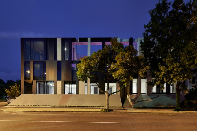 Domain Road Apartments by Wood Marsh Architecture.