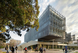 The Melbourne School of Design by John Wardle Architects and NADAAA. The University of Melbourne is now Australia's top-ranked school for architecture, according to the QS World University Rankings.