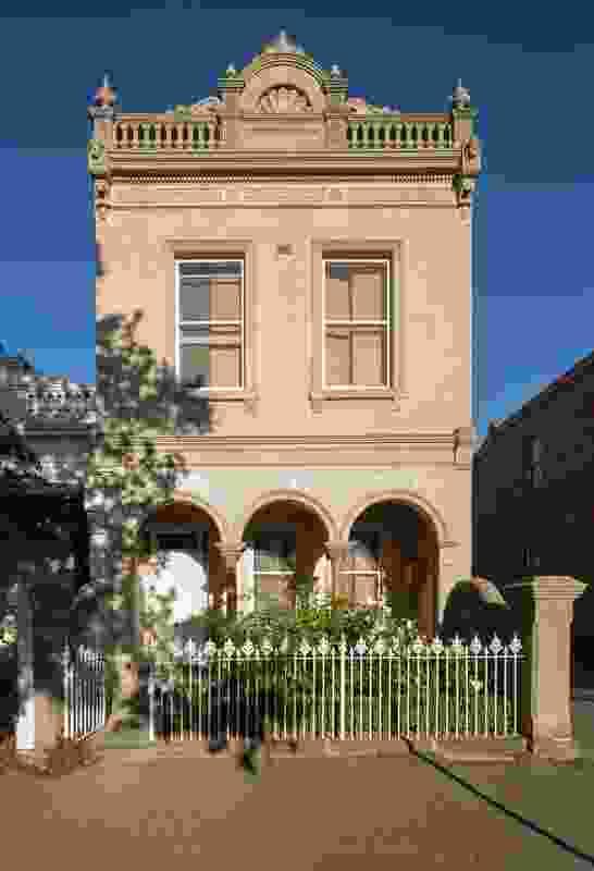 Arnold Street House by Robert Simeoni Architects.