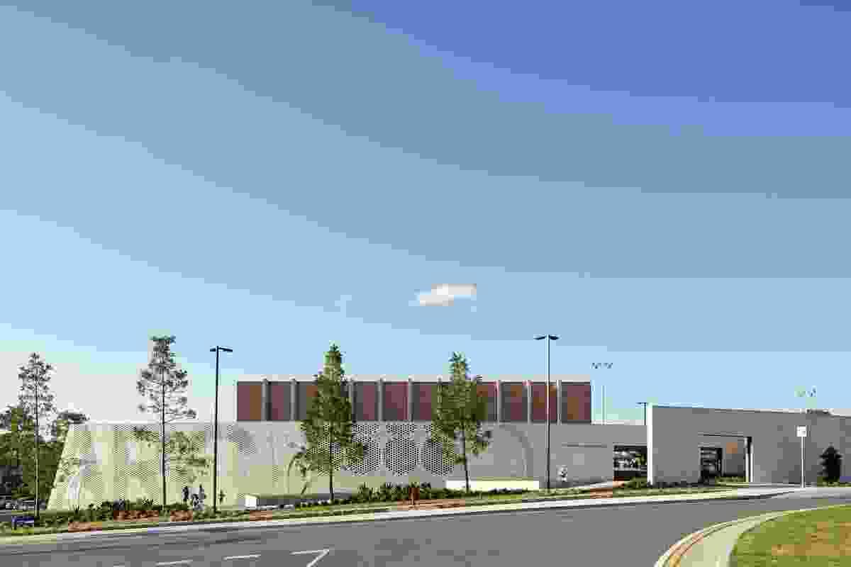 Gympie Aquatic Recreation Centre by Liquid Blu Architects.