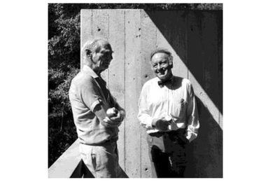 Harry Seidler and Max Dupain, 1991.