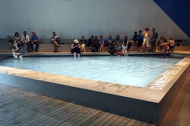 The Pool exhibition at the Australia pavilion.