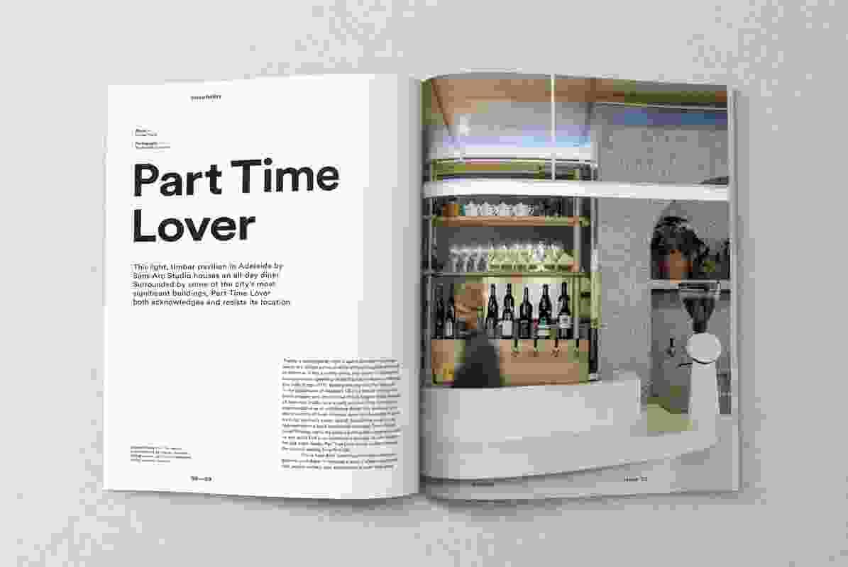 Inside Artichoke issue 70.