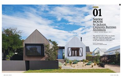 A preview from the magazine: Seaview House by Jackson Clements Burrows.