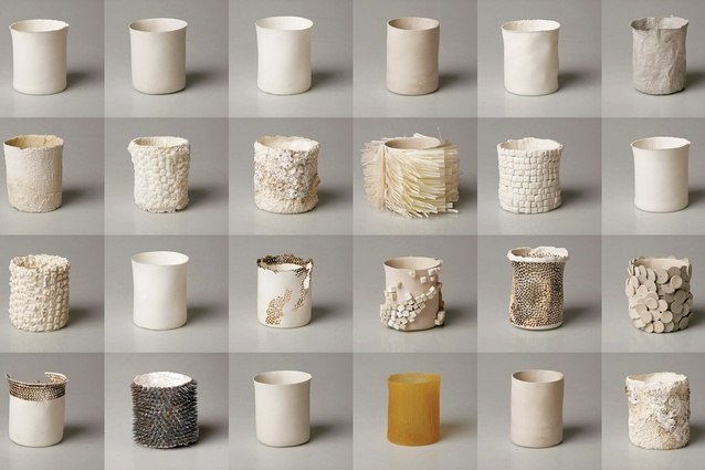 The Daily Haptics collection by Marie Rouillon, part of the Textile Futures course at Central St Martins.