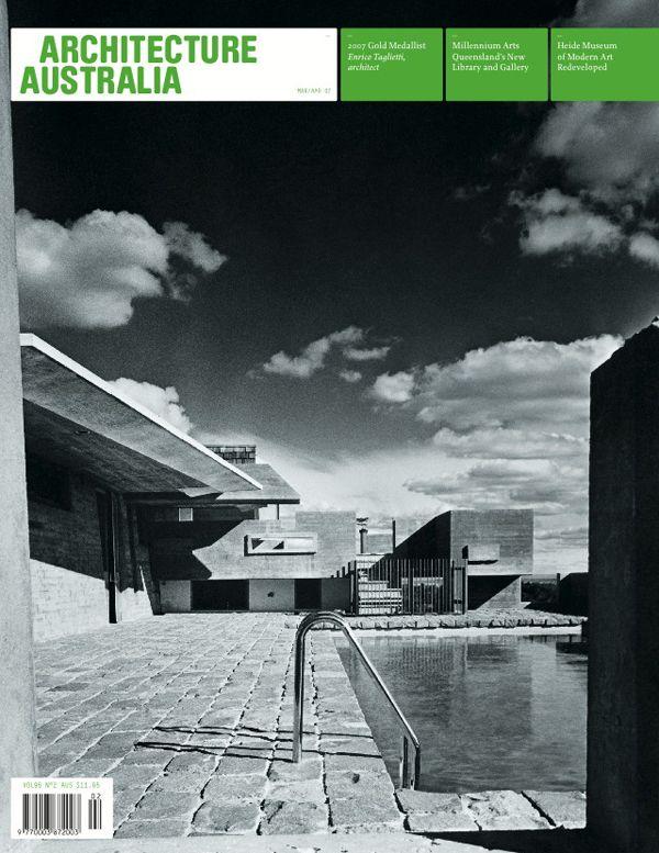 Architecture Australia, March 2007