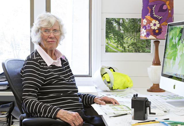 "Brisbane landscape architect and Wilson Architects director Elizabeth ""Beth"" Wilson."