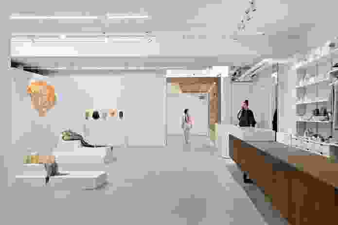 Craft Victoria's new space, designed by Karen Abernethy.