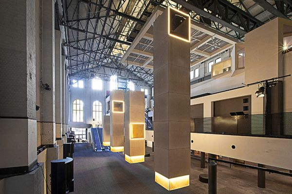 Four Periscopes by Trias, the 2018 MAAS Architecture Commission.