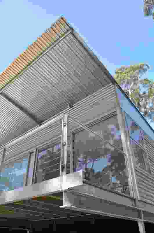 Karri Fire House by Ian Weir Architect and Kylie Feher Architect