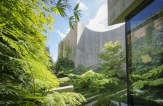 Structured chaos: Towers Road Residence Gardens