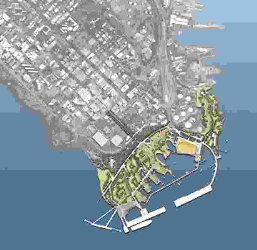 Darwin Waterfront Masterplan: Hassell.