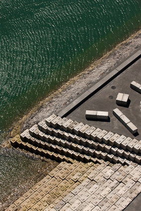 North Wharf Promenade, Silo Park and Jellicoe Street by Taylor Cullity Lethlean with Wraight + Associates.