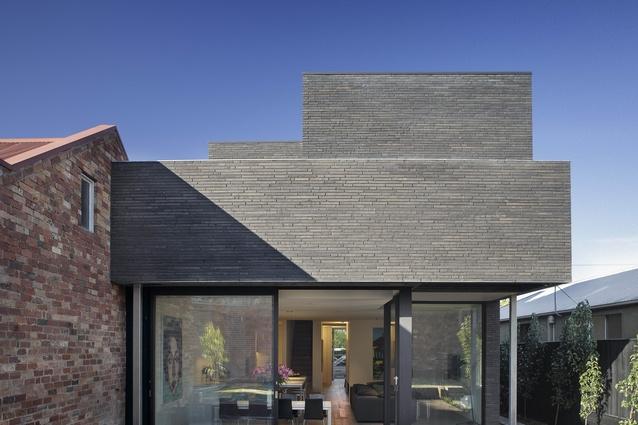 Alexandra Street House (Vic) by Robert Simeoni Architects.