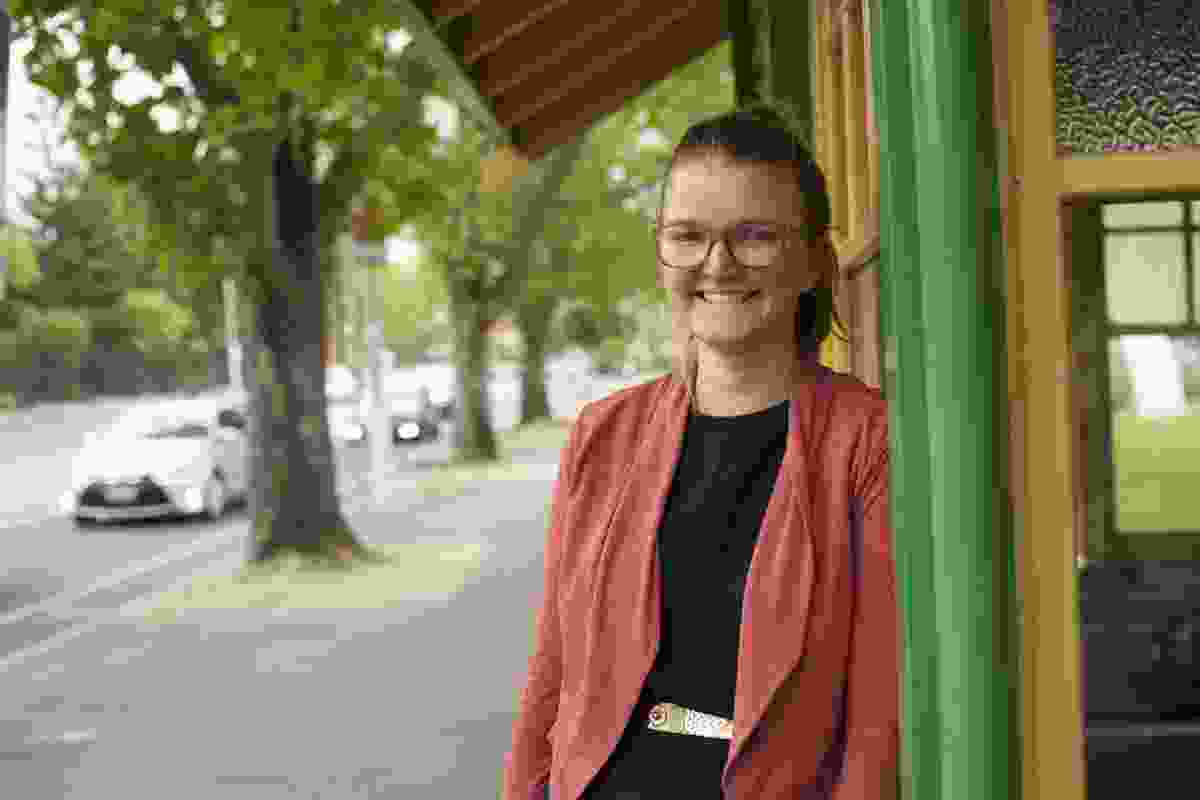 The Young Planner of the Year Award went to Victorian planning graduate Brighid Sammon.