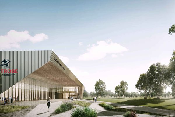 La Trobe University's Sports Park stage two by Warren and Mahoney.