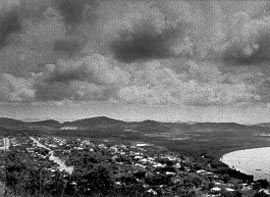 Looking west over Cooktown from Grassy Hill. Image: Patrick Bingham-Hall