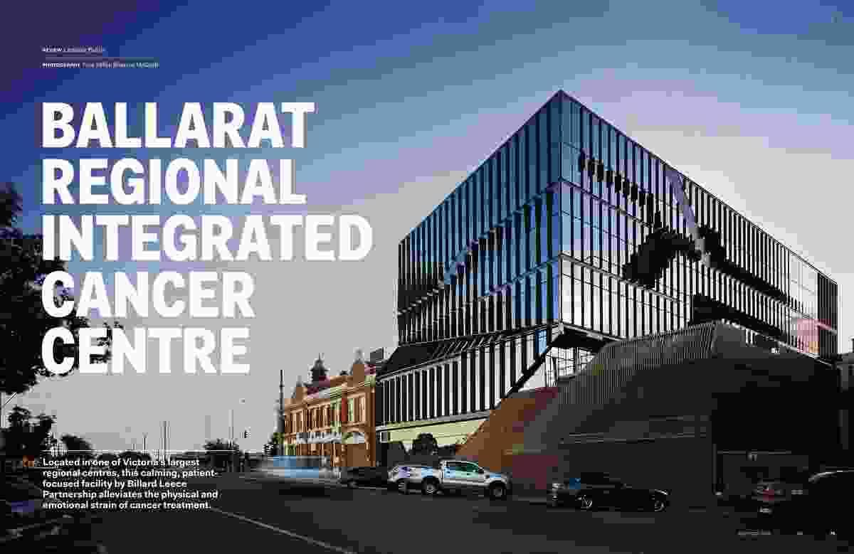 Ballarat Regional Integrated Cancer Centre by Billard Leece Partnership.