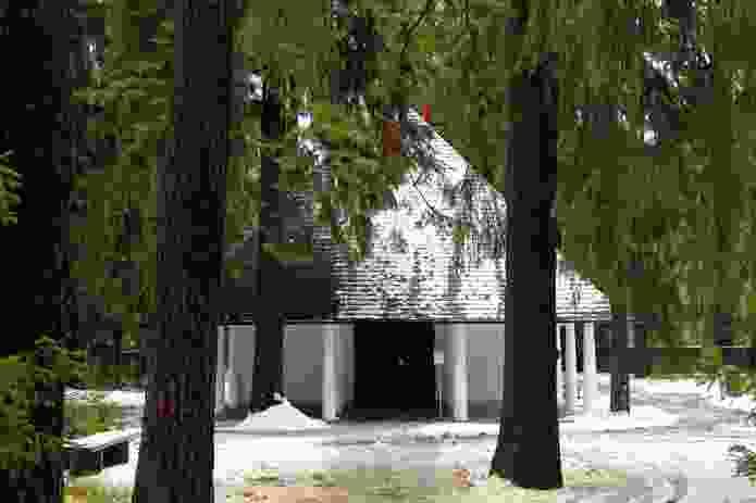Woodland Chapel by Erik Gunnar Asplund, 1920.