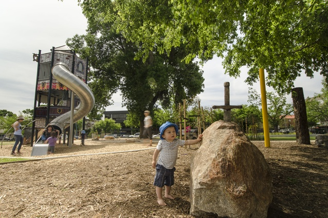 Princess Elizabeth Playspace by Adelaide City Council.