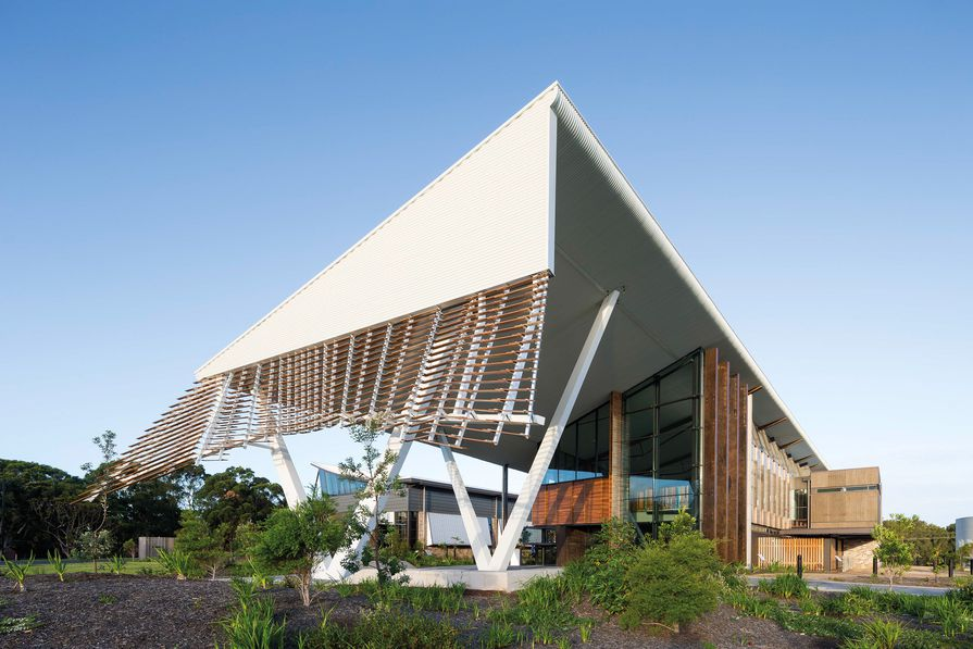Sustainable Buildings Research Centre – University of Wollongong by Cox Richardson.