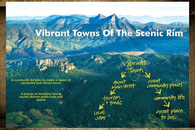 Vibrant Towns of the Scenic Rim by John Mongard Landscape Architects.