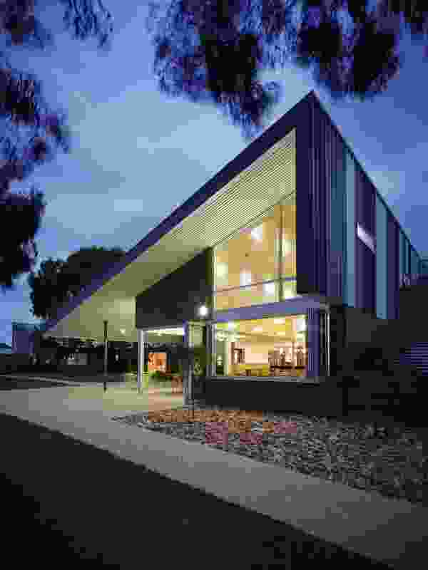 The Heights Community Building, Traralgon, by Adam Dettrick Architect.