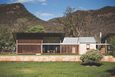 House in Country NSW by Virginia Kerridge Architect –Australian House of the Year and awarded in the category of House Alteration and Addition over 200 square metres.