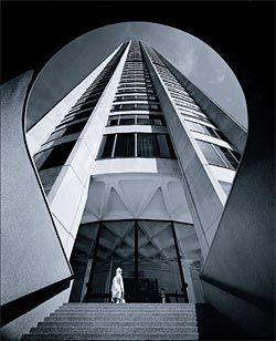 Max Dupain's famous image of Seidler's Australia Square, 1967.