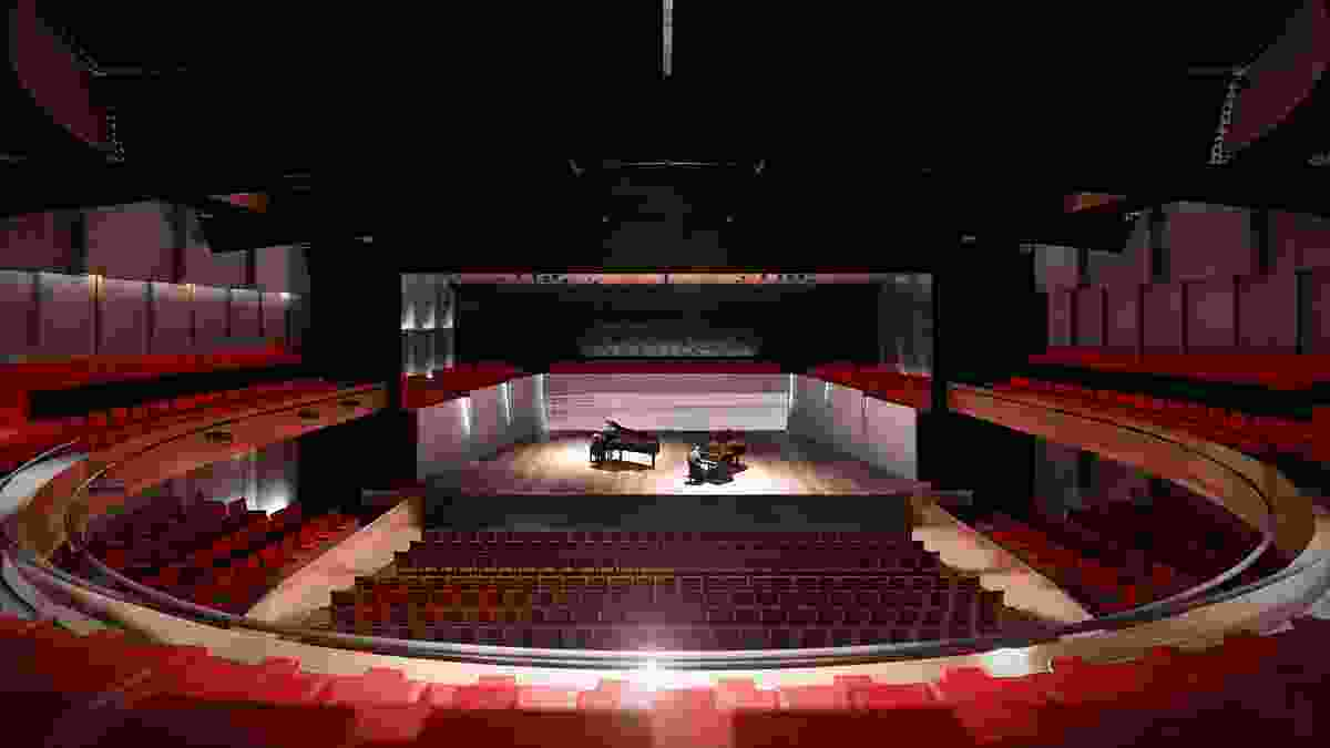 A theatre in the proposed MONA Motown by Fender Katsalidis.