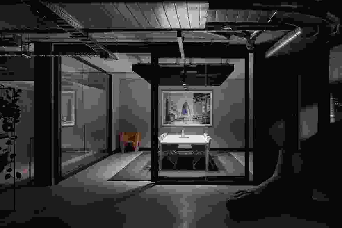 Cremorne Studio by Conrad Architects.
