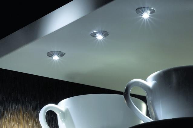 Hettich Magic lighting systems.
