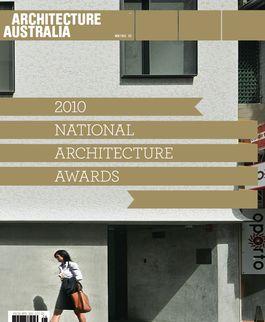 Architecture Australia, November 2010