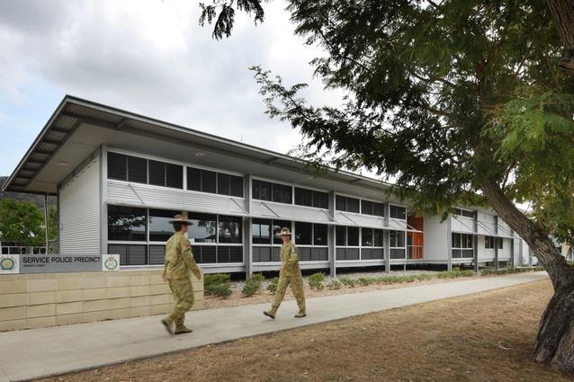 1MP Company and ADFIS – Service Police Precinct Lavarack Barracks Redevelopment Stage 4 by Conrad Gargett.